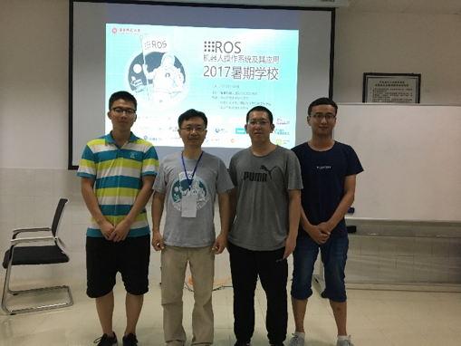 Incoming STAR Lab students with the ROS games organizer