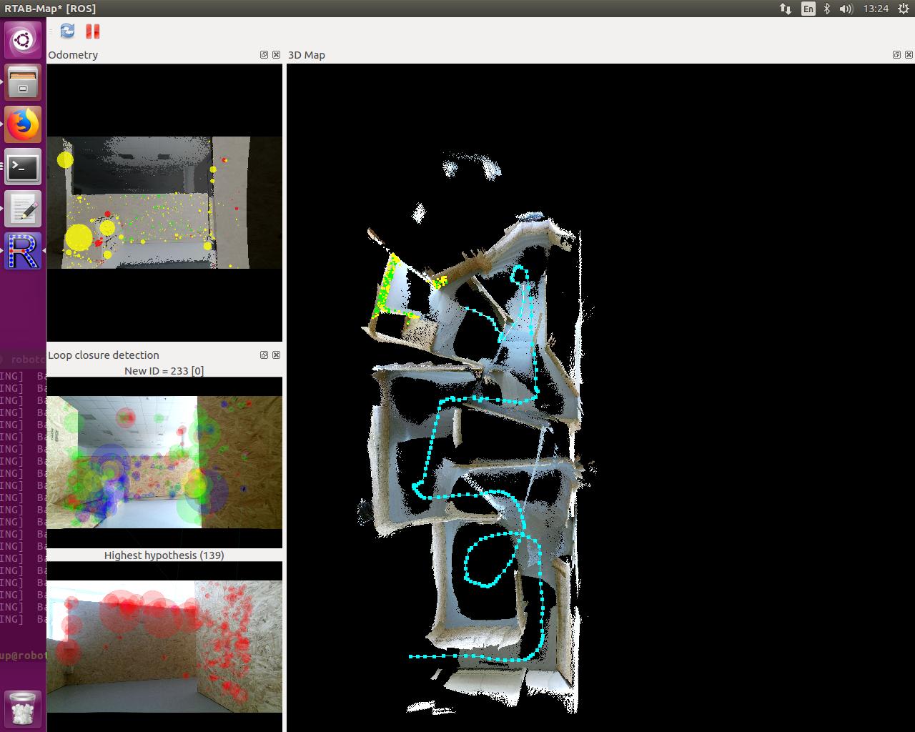 Robotics 2017: Autonomous navigation and mapping of RoboCup